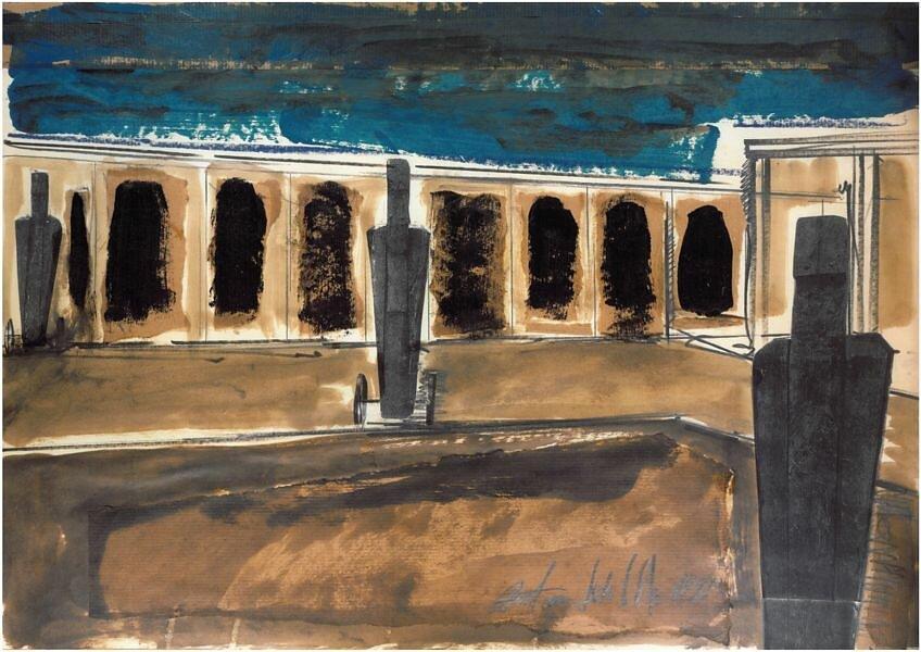 I guardiani della dormiente - Cimitero di Roncaglia Rio - Padova