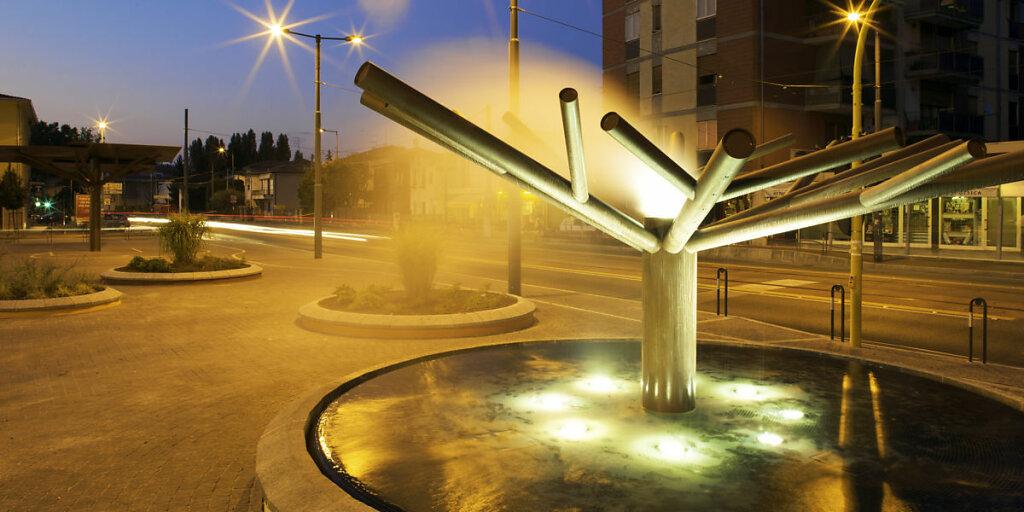 La fontana albero