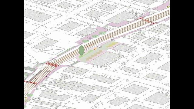 Opere collaterali al Tram SIR1: riqualificazione delle sedi viarie in via Guizza - via Tiziano Aspetti, Padova