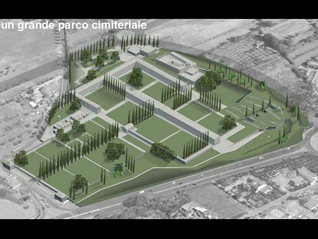 """Concorso di progettazione in fase unica """"Parco Cimiteriale e Tempio Crematorio a Chiesanuova"""" - Prato"""